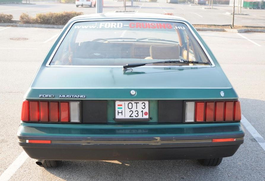 Dark Jade 1979 Ford Mustang Ghia Hatchback Mustangattitude Com Photo Detail