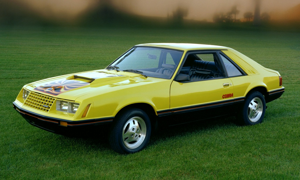 Bright Yellow 1979 Ford Mustang Cobra Optioned Hatchback