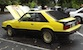 Bright Yellow 79 Mustang Cobra Hatchback