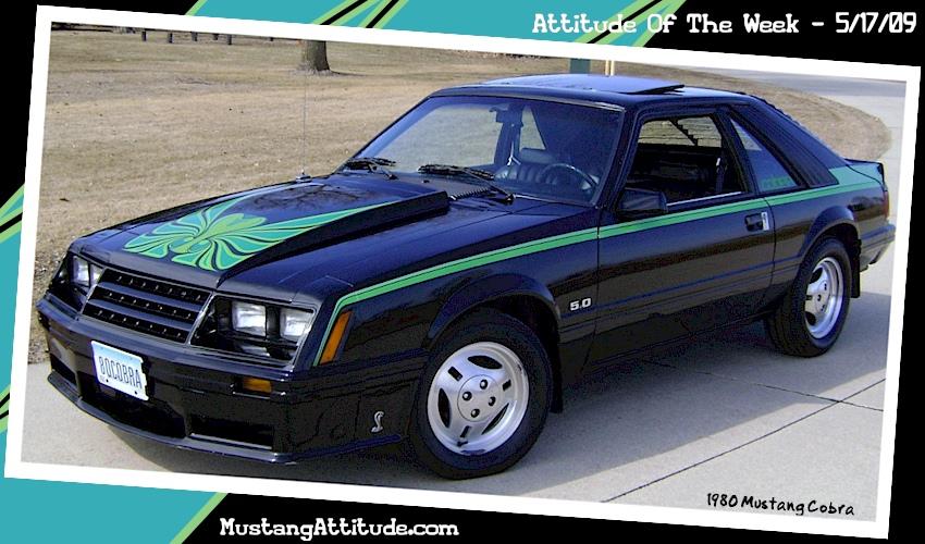 Black 1980 Ford Mustang Cobra Optioned Hatchback Mustangatude Photo Detail