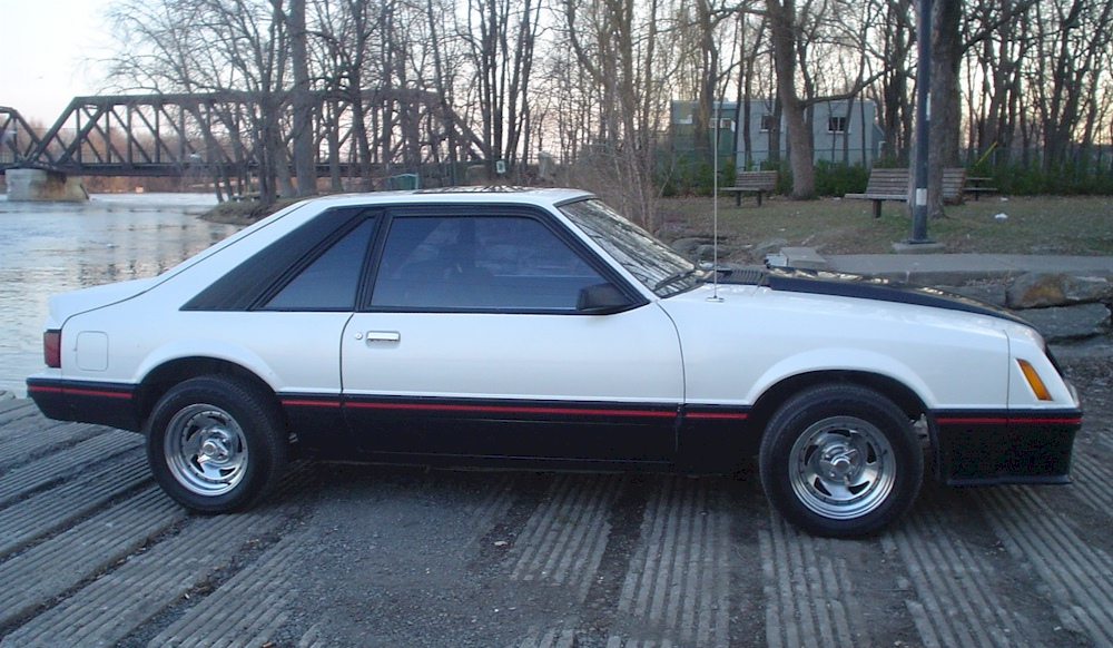 White 1980 Ford Mustang Cobra Optioned Fastback