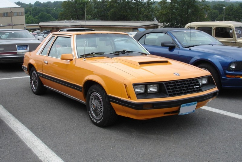 1980 Mustang Paint Colors