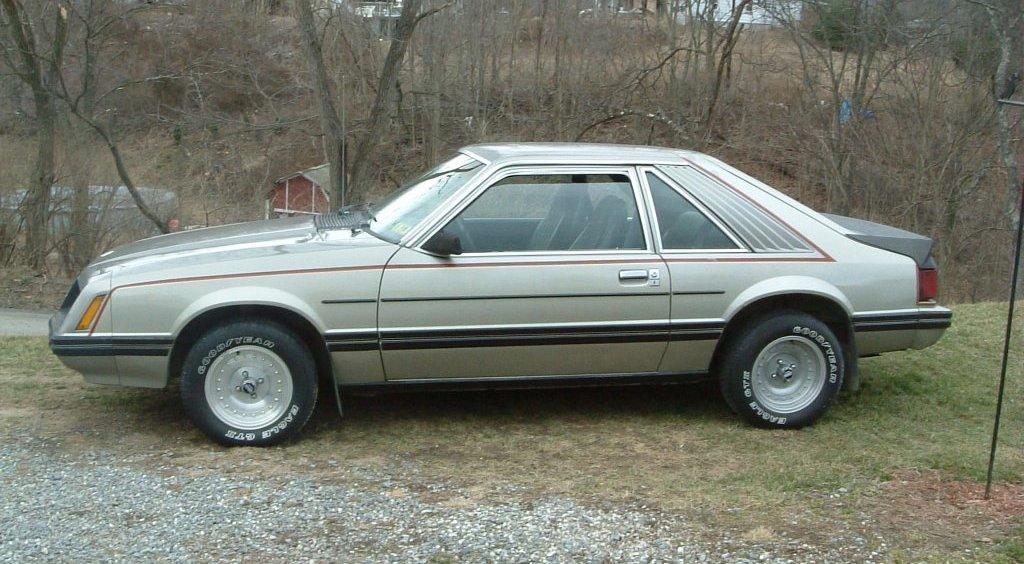 silver 1981 ford mustang hatchback. Black Bedroom Furniture Sets. Home Design Ideas