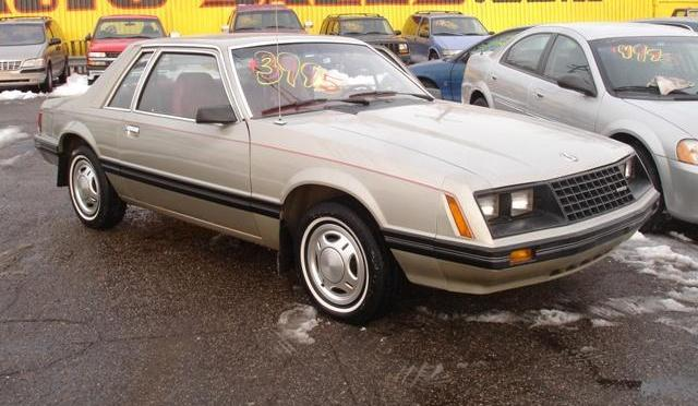 silver 1981 ford mustang coupe photo. Black Bedroom Furniture Sets. Home Design Ideas