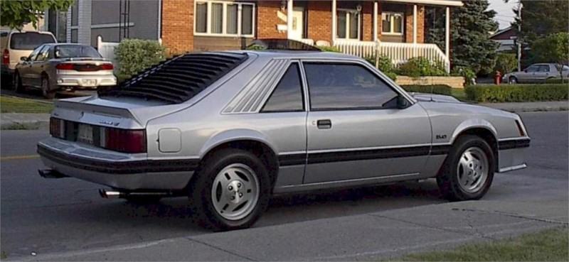 Silver 1982 Ford Mustang Gt Hatchback Mustangattitude Com Photo Detail