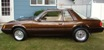 Brown 1982 Modified Mustang Coupe