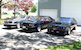 Three 1982 Mustang GT hatchbacks