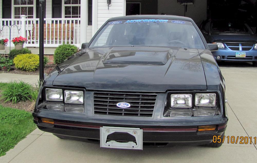 17 Mustang Rims Mustang Staggered Bullitt Matte Black
