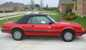 Bright Red 1983 Mustang Convertible