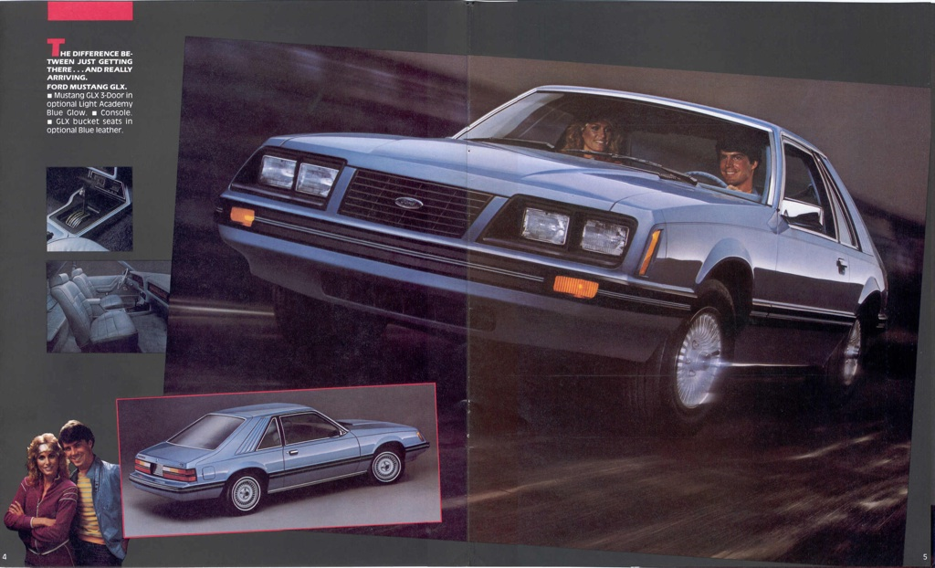 1983 Ford Mustang Promotional Booklet