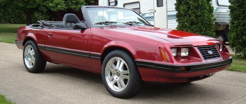1984 Mustang Convertible