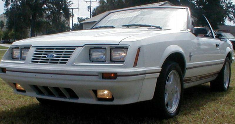 1984 GT 350 Mustang (not Shelby)