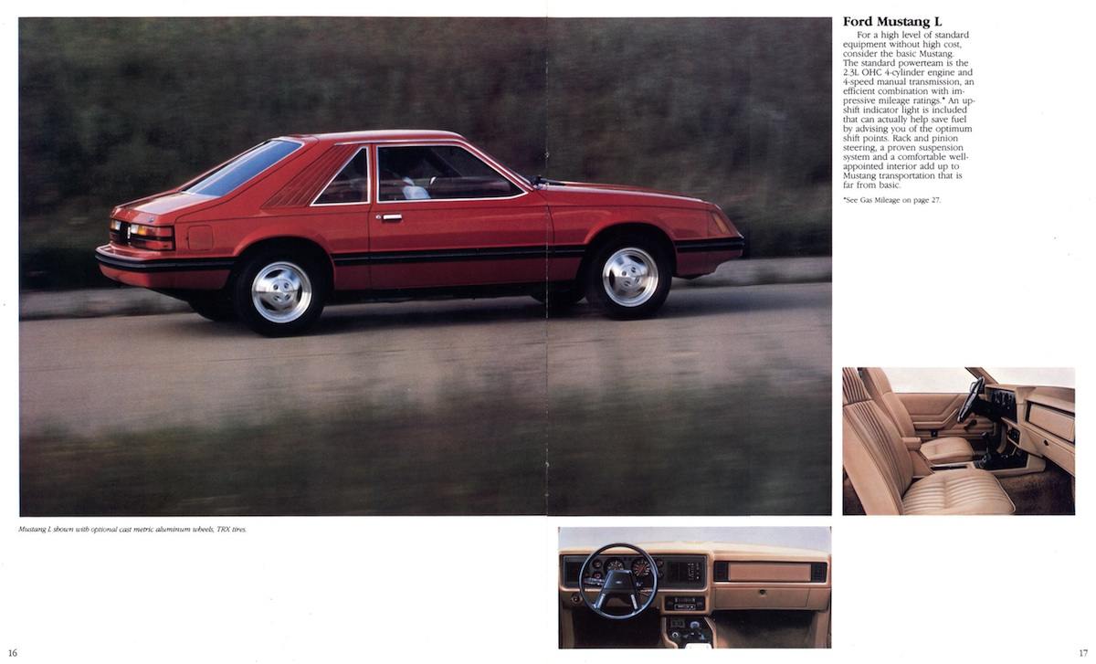 Page 16 & 17: Ford Mustang L
