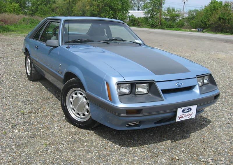 1989 Mustang Regatta Blue