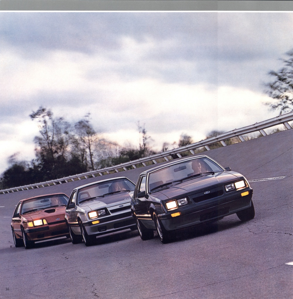 Page 16: 1986 Ford Mustang Promotional Brochure