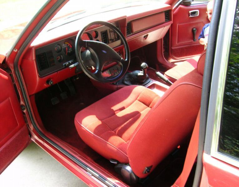 1986 Ford Escort GT - YouTube  |1986 Ford Exp Interior