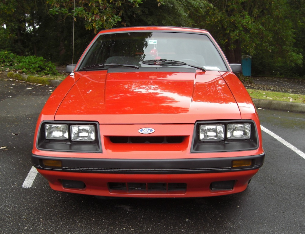 Bright Red 1986 Mustang GT Hatchback