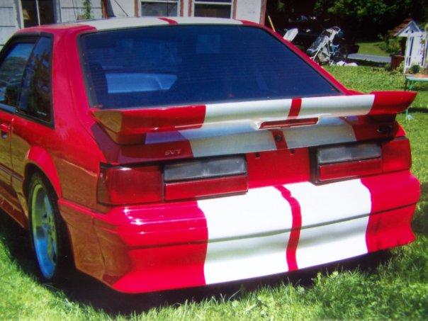 87 Hatchback Mustang Red 87 Mustang gt