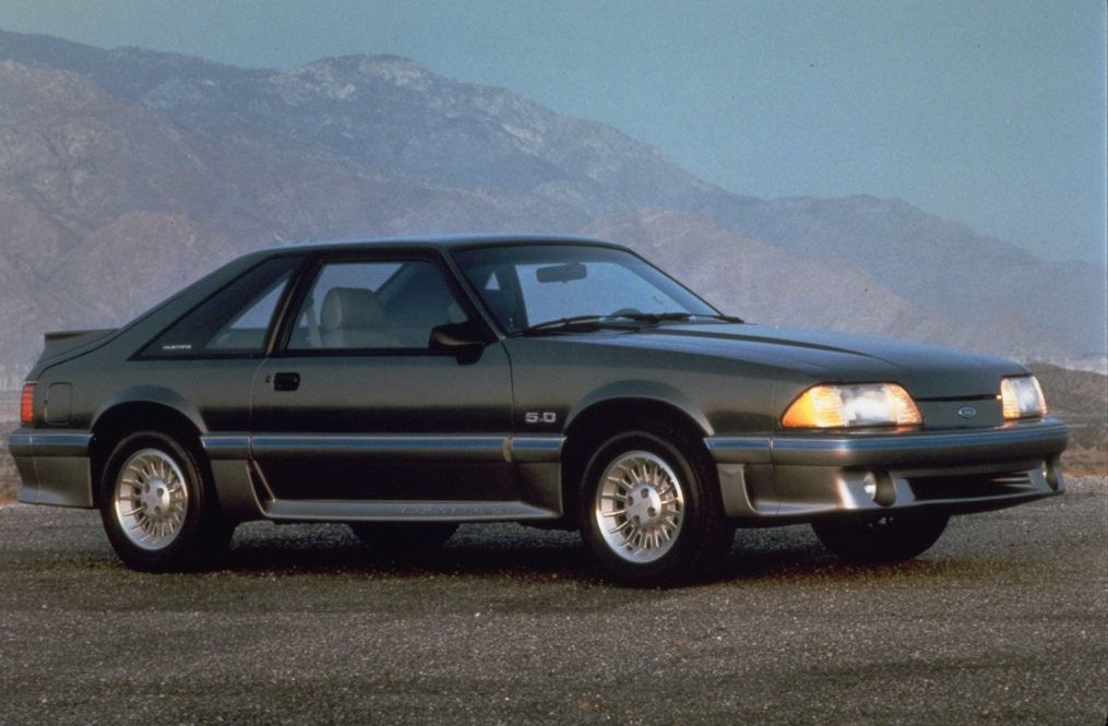 1987 Mustang Paint Colors