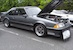 Dark Gray Metallic 1988 Saleen Mustang Hatchback