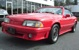 Guards Red 1988 ASC McLaren Mustang Convertible