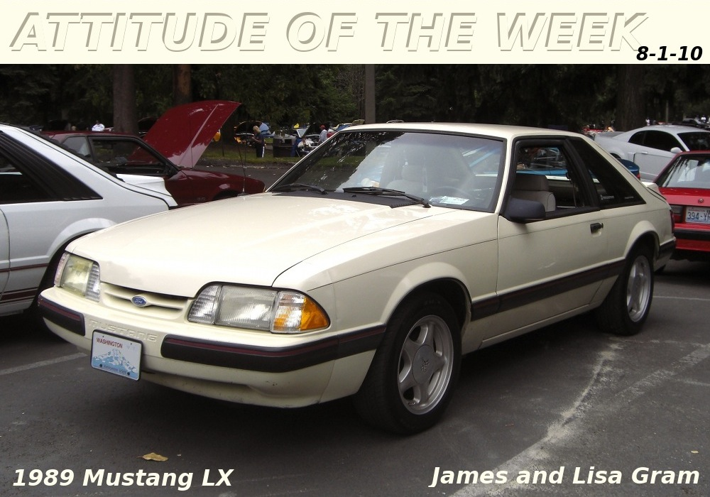 Almond 1989 Mustang LX Hatchback