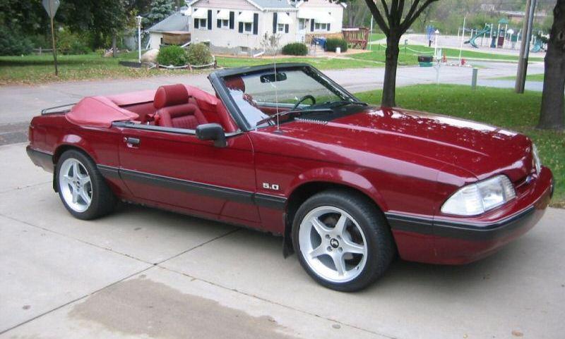 1989 Mustang Gt Interior Codes