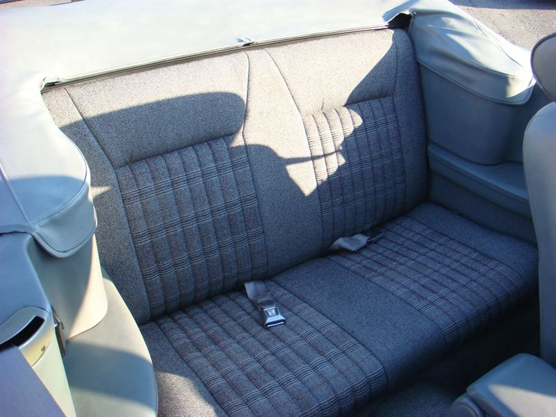 Rear Seat 1989 Mustang GT Convertible
