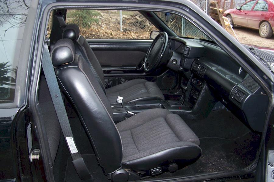 Black 1990 Ford Mustang Gt Hatchback Photo Detail