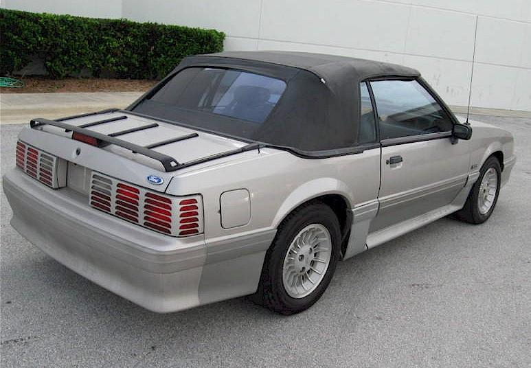 Light Anium 1990 Mustang Gt Convertible