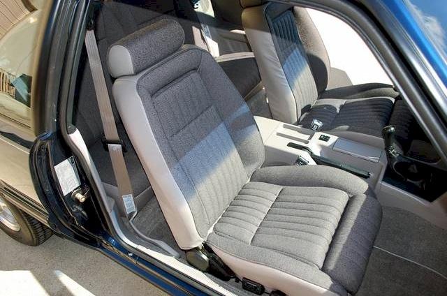 twilight blue  ford mustang hatchback mustangattitudecom photo detail