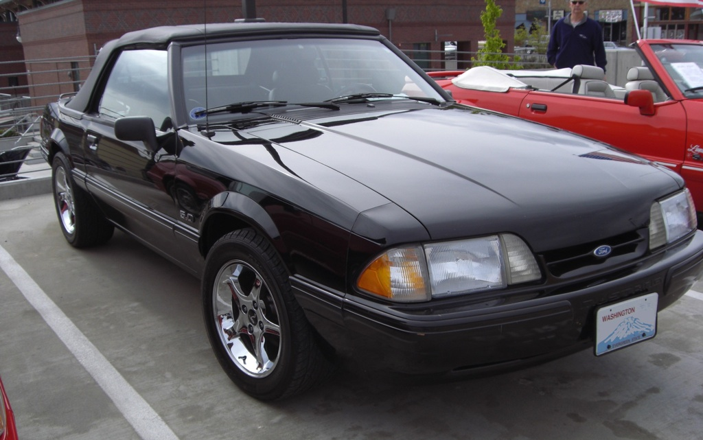 25th anniversary mustang convertible