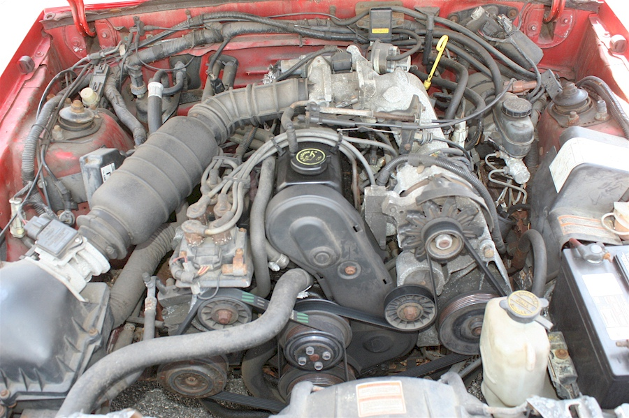 Ford Ranger 2.3 L Engine For Sale >> Red 1991 Ford Mustang Big Apple Edition Convertible