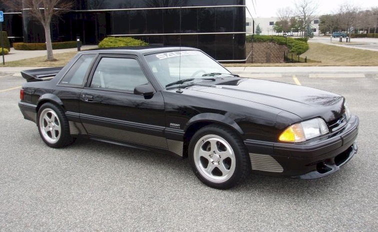 Black 1991 Saleen Ford Mustang Coupe Mustangattitude Com