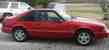Vibrant Red 1992 5.0LX Mustang Hatchback