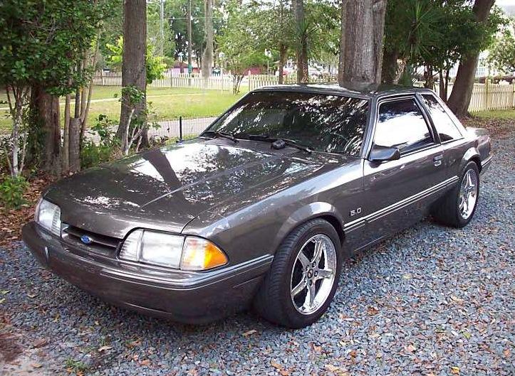 Medium Titanium 1992 Ford Mustang Coupe  MustangAttitudecom