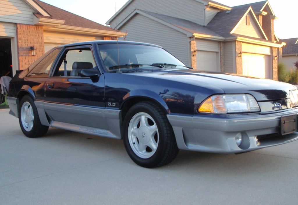 1993 Mustang Paint Colors