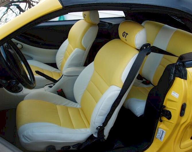 Etonnant ... Just Like This Mustang Interior?