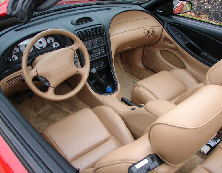 rio red 1994 ford mustang svt cobra indianapolis pace car convertible. Black Bedroom Furniture Sets. Home Design Ideas
