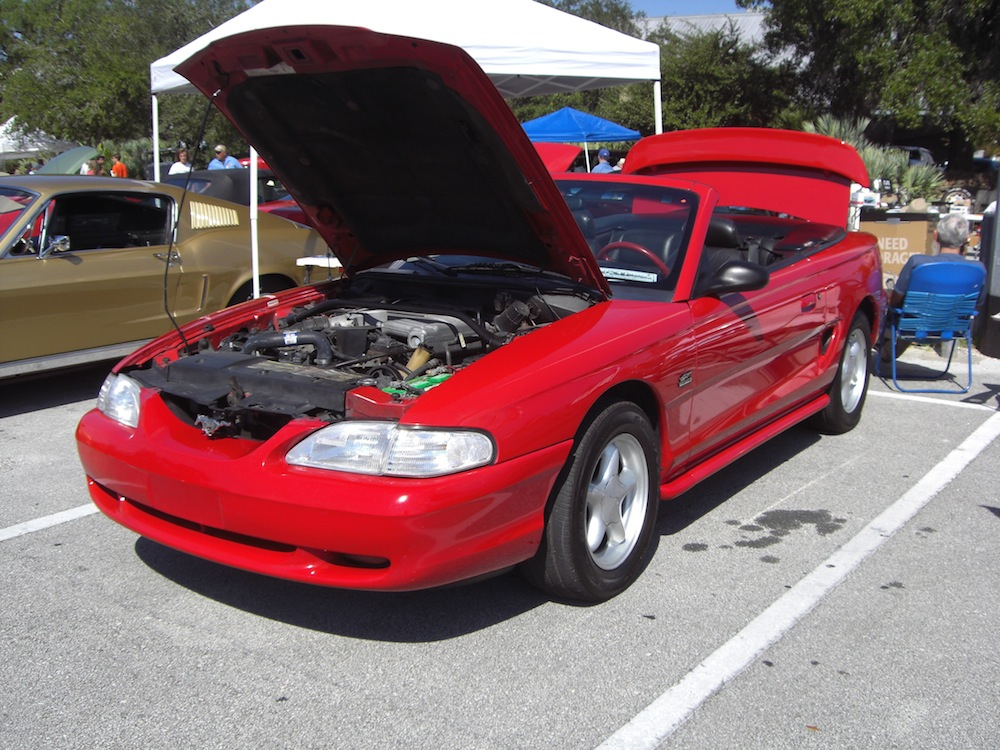 rio red 1994 ford mustang gt convertible mustangattitude. Black Bedroom Furniture Sets. Home Design Ideas