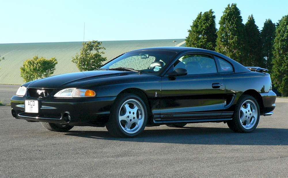 Mustang 1995 Cobra R Style Black Wheel  17x9 9404 All