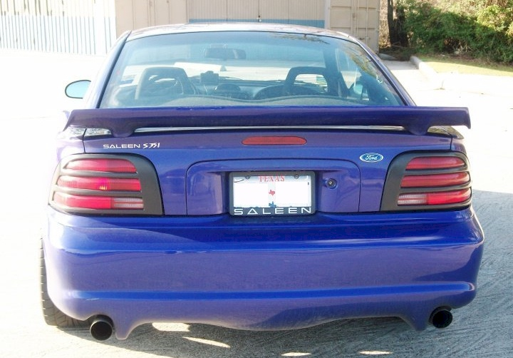 sapphire blue 1995 saleen s351 ford mustang coupe. Black Bedroom Furniture Sets. Home Design Ideas