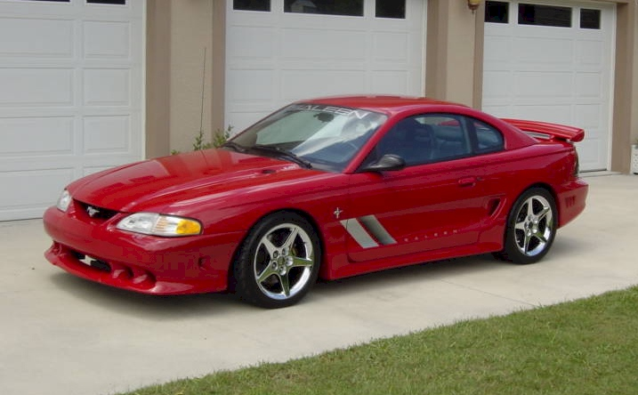 Rio Red 1995 Saleen S-351
