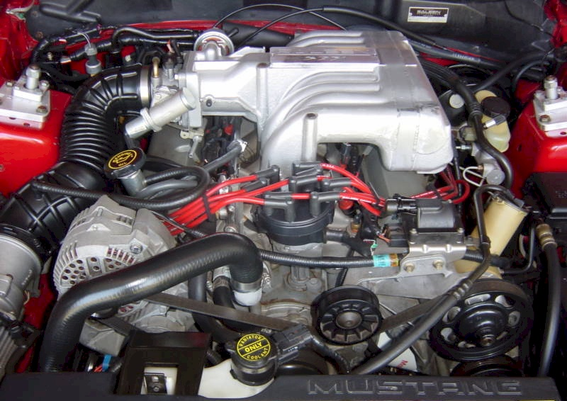 Mustang 1995 Saleen 1995 Saleen S-351 Engine