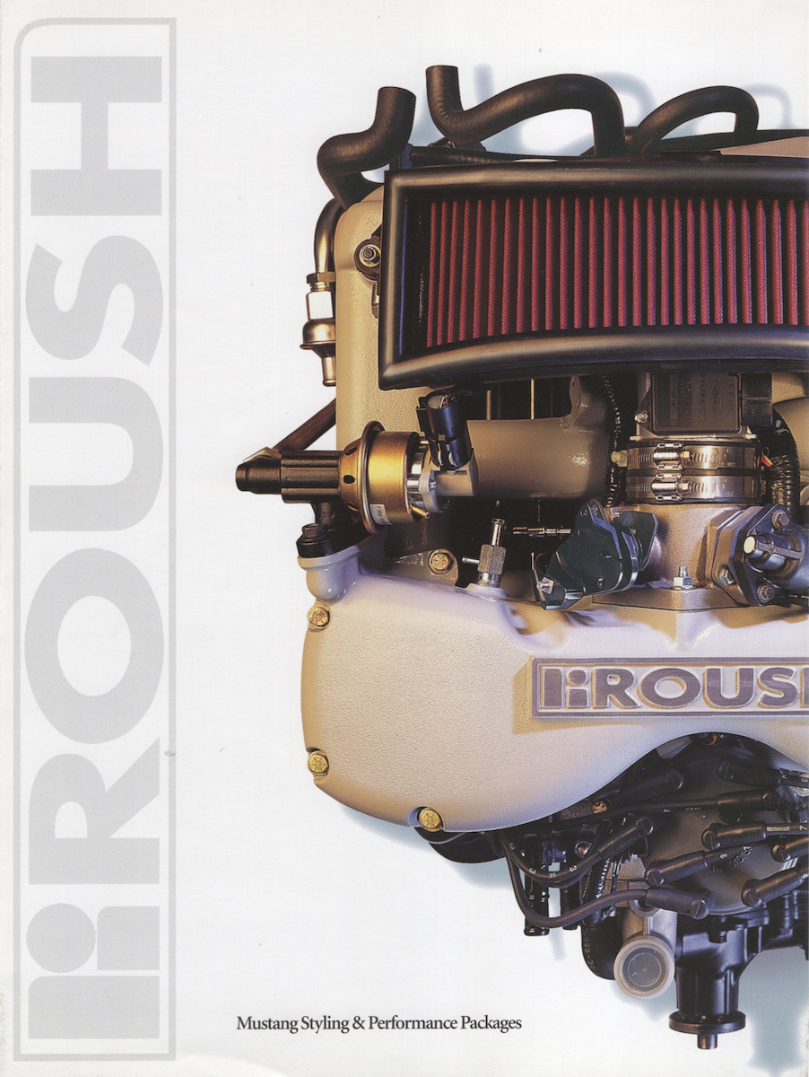 1995 Roush Mustang Sales Brochure