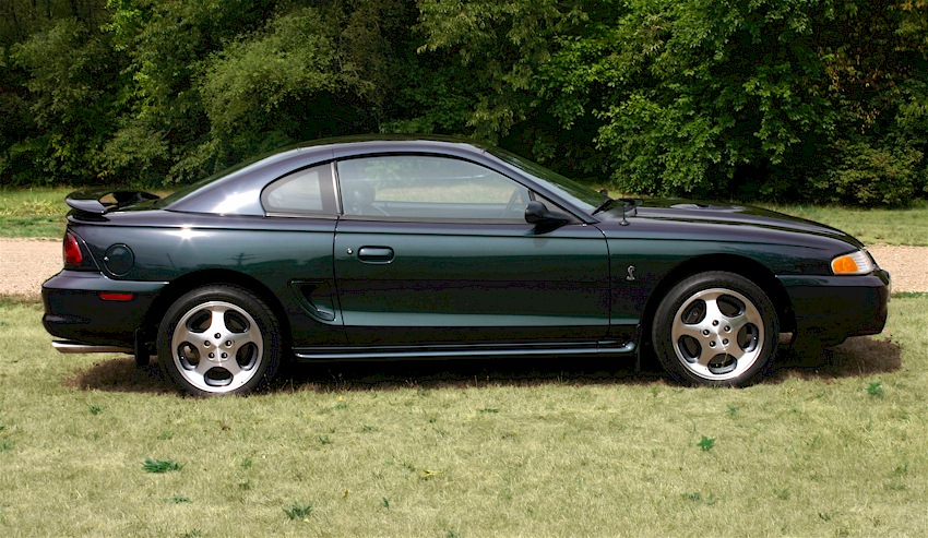 mystic purple green 1996 ford mustang svt cobra coupe. Black Bedroom Furniture Sets. Home Design Ideas