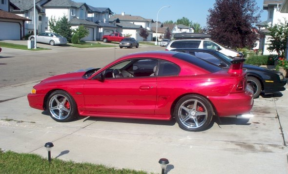 Rio Red 1996 Ford Mustang GT Coupe  MustangAttitudecom Photo Detail