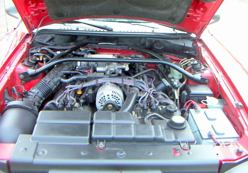 1996 Mustang X-code V8 engine
