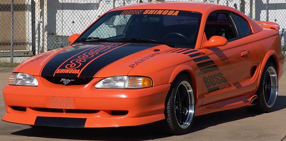 ford mustang 1996 specs