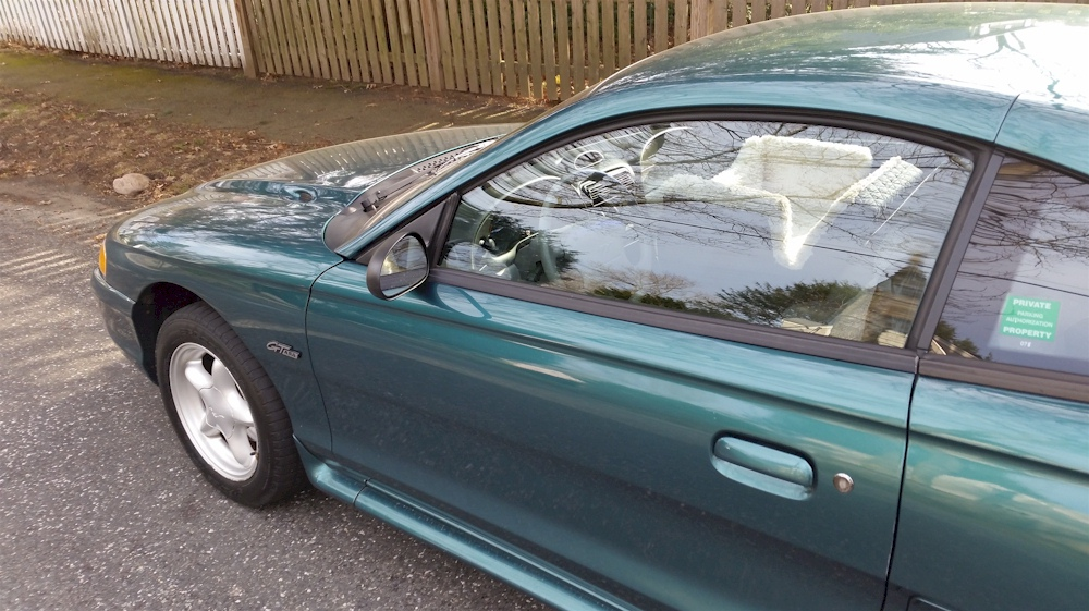 Pacific Green 1996 Mustang GT (GTS)